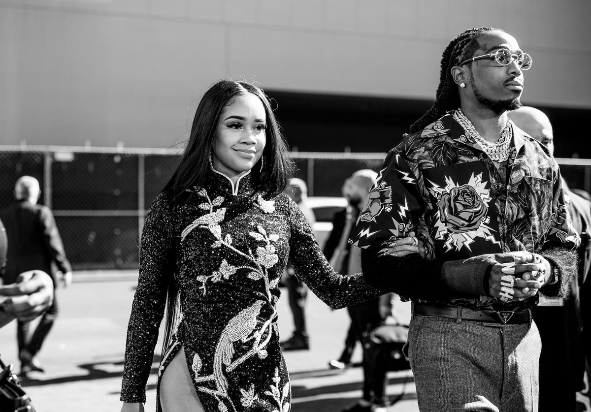 Quavo and Saweetie at the 2019 Billboard Music Awards