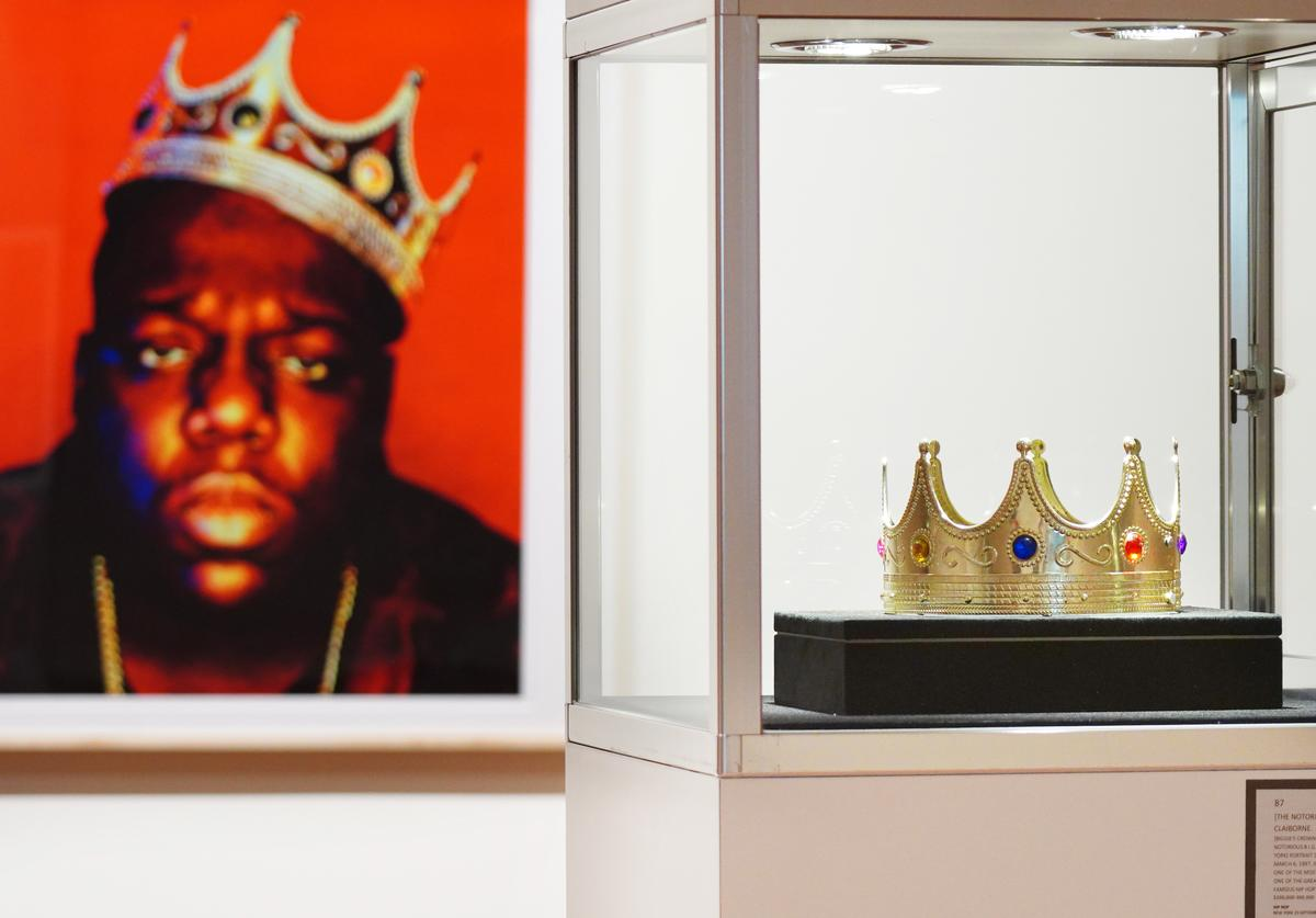 Biggie's crown at Sotheby's first Hip Hop auction