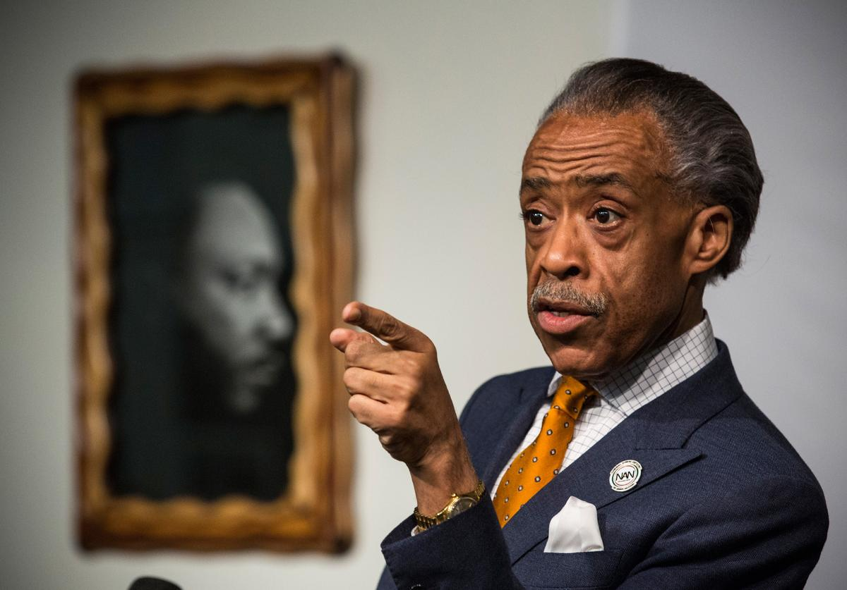 Rev. Al Sharpton, Police Shooting, George Floyd, Jacob Blake