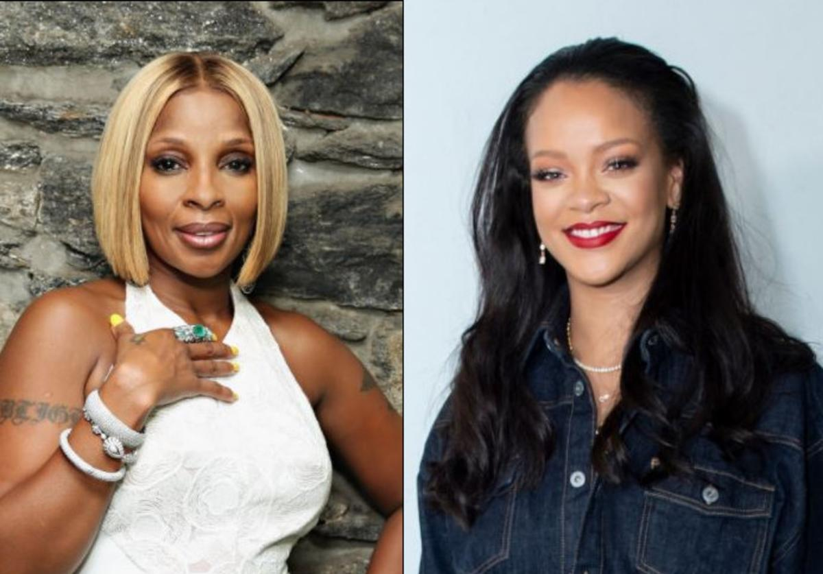 Mary J. Blige, Rihanna, Watch What Happens Live, Umbrella, Jay-Z, Andy Cohen