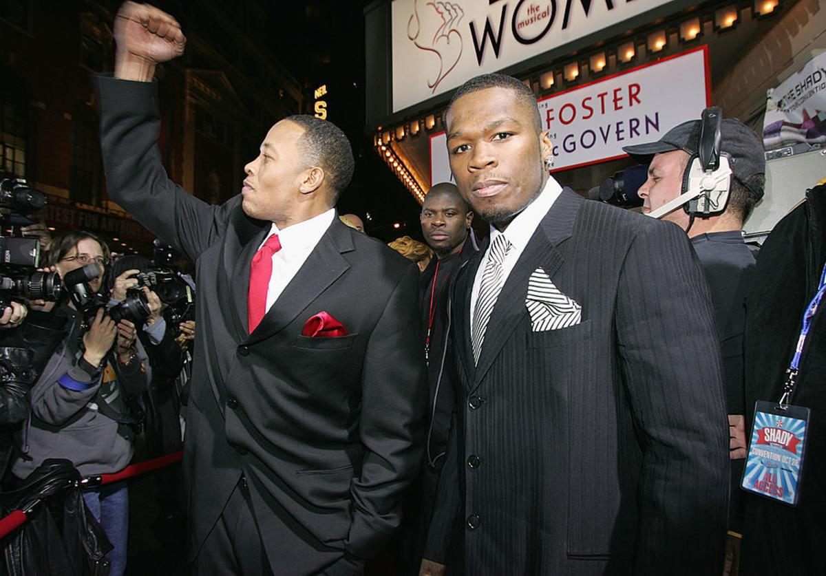 50 Cent Dr. Dre Nicole Young