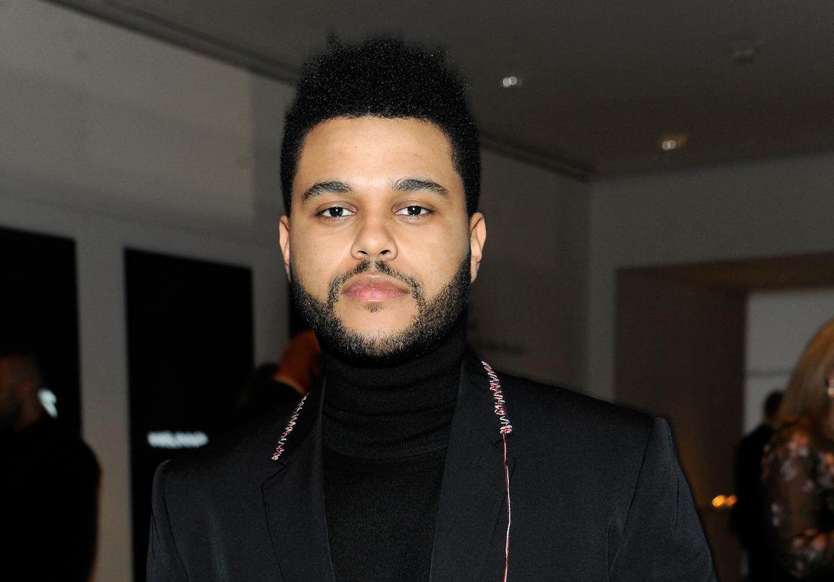 The Weeknd at the WSJ Magazine 2016 Innovator Awards