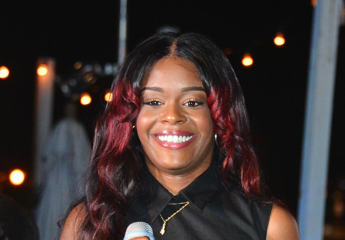 Azealia Banks performs onstage at Terry Richardson's TerryWorld event
