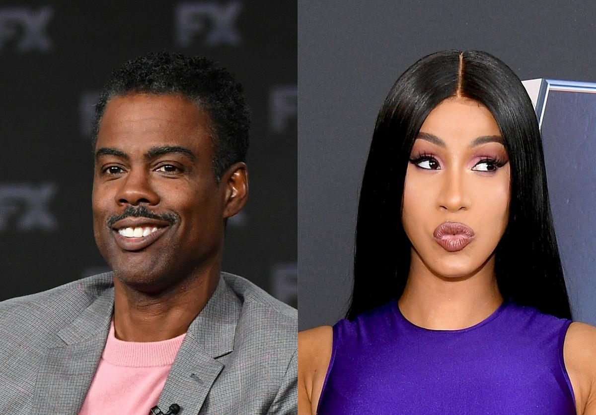Chris Rock & Cardi B