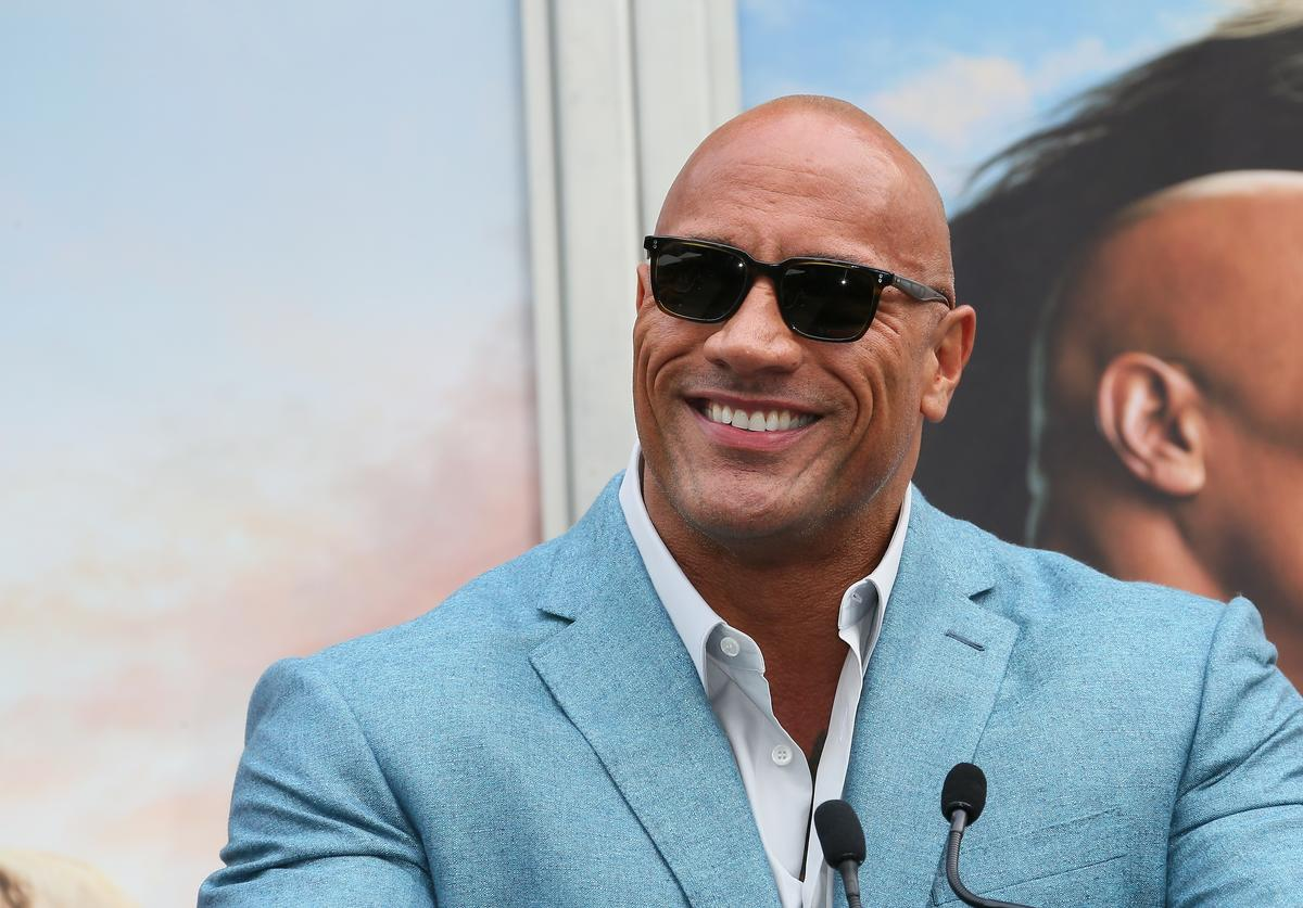 The Rock Endorses Biden