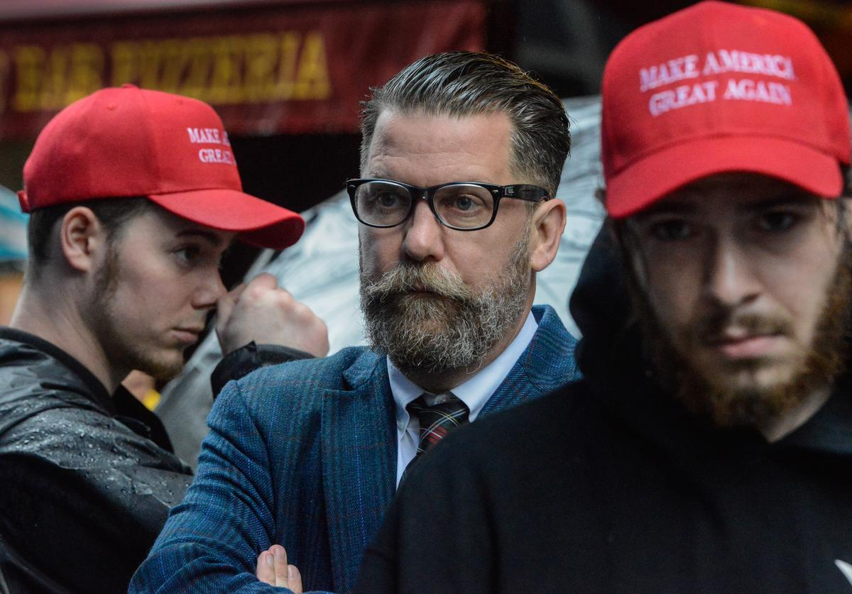 Gavin McInnes at Alt-Right rally