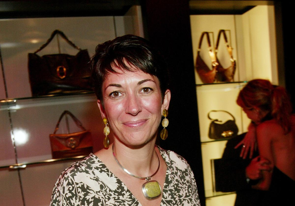 Ghislaine Maxwell attends an event in New York City