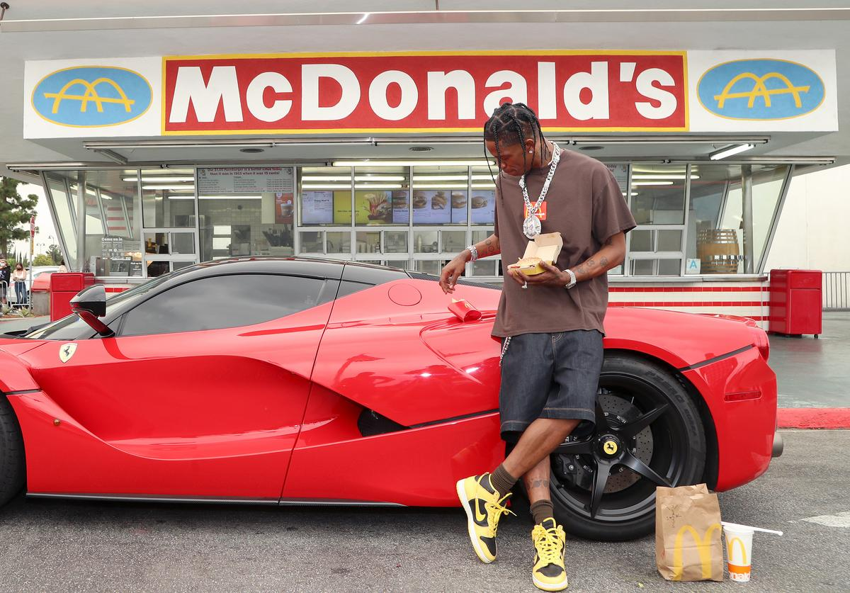 Travis Scott unveils his Travis Scott meal at McDonald's
