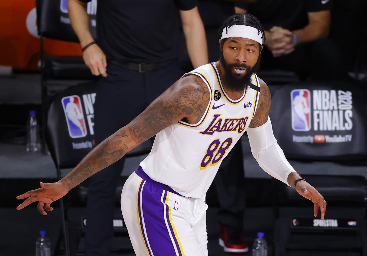 Markieff Morris, LeBron James, Game 5, Los Angeles Lakers, Miami Heat, Blunder, JR Smith, Memes, Twitter