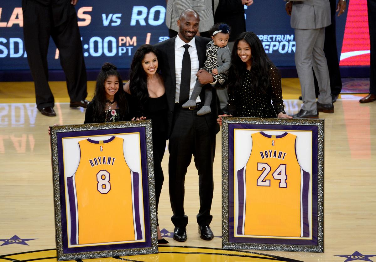 Kobe Bryant, Vanessa Bryant, Gianna Bryant, Bryant kids, Lakers, Tattoos