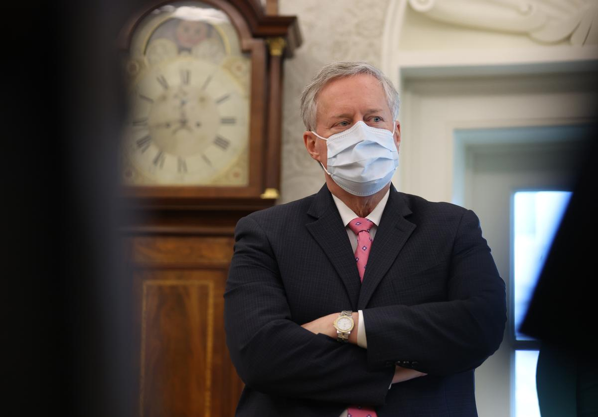 Mark Meadows, Coronavirus, Donald Trump