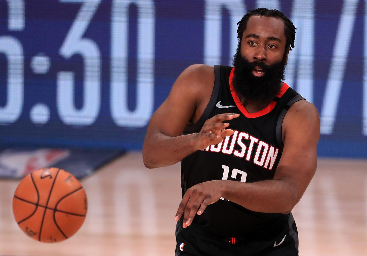 James Harden, Rockets, Nets