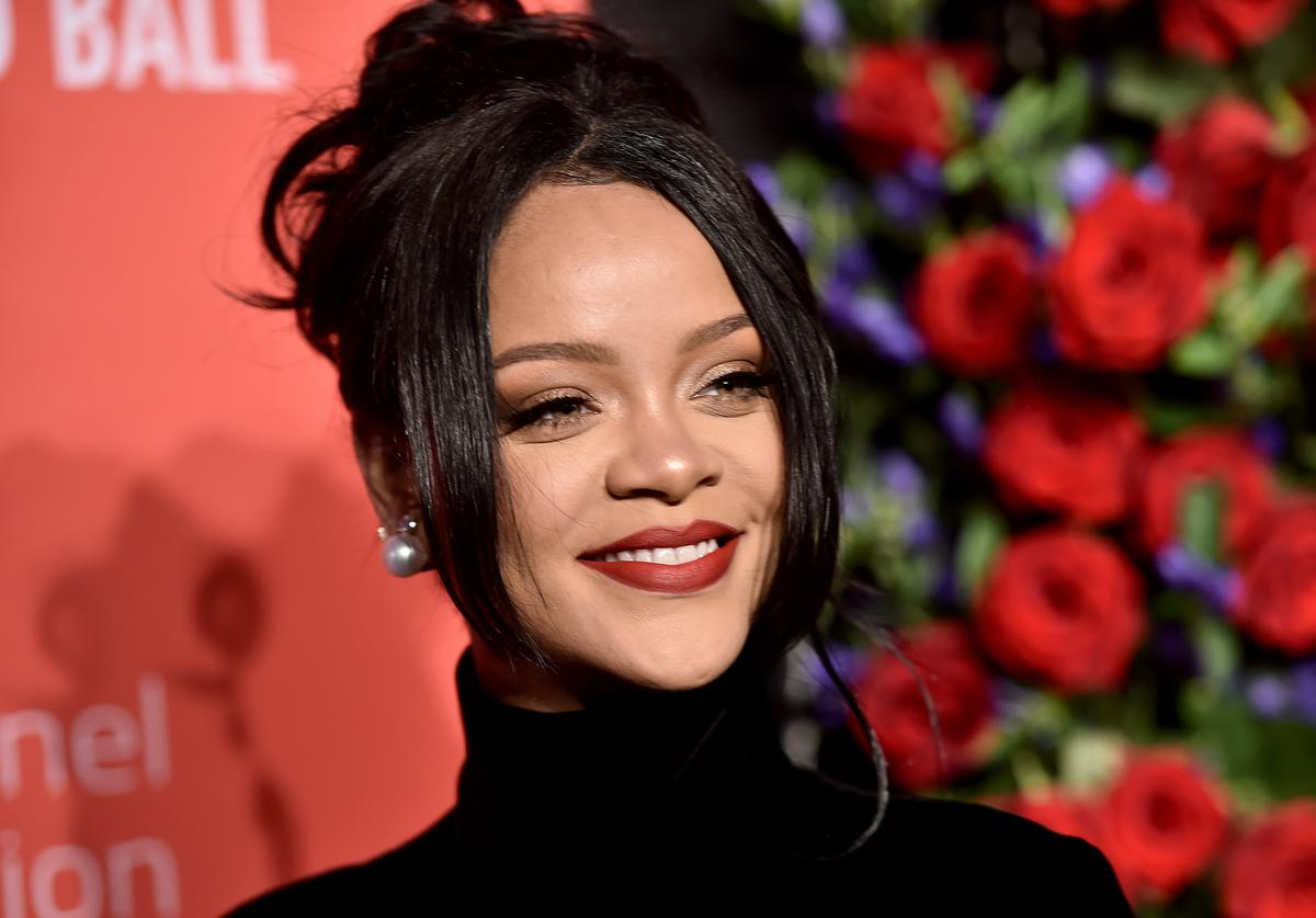 Rihanna attends Rihanna's 5th Annual Diamond Ball