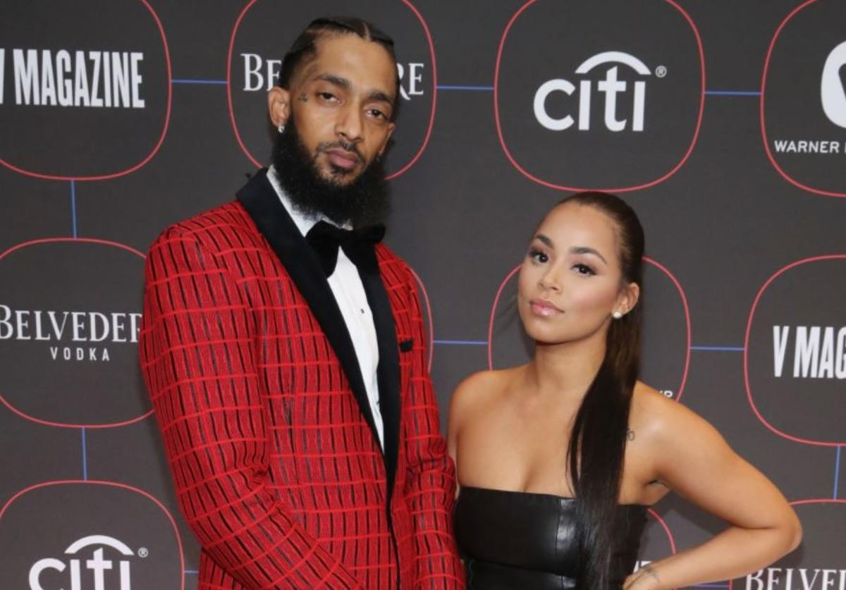 Nipsey Hussle, Lauren London, Tattoo
