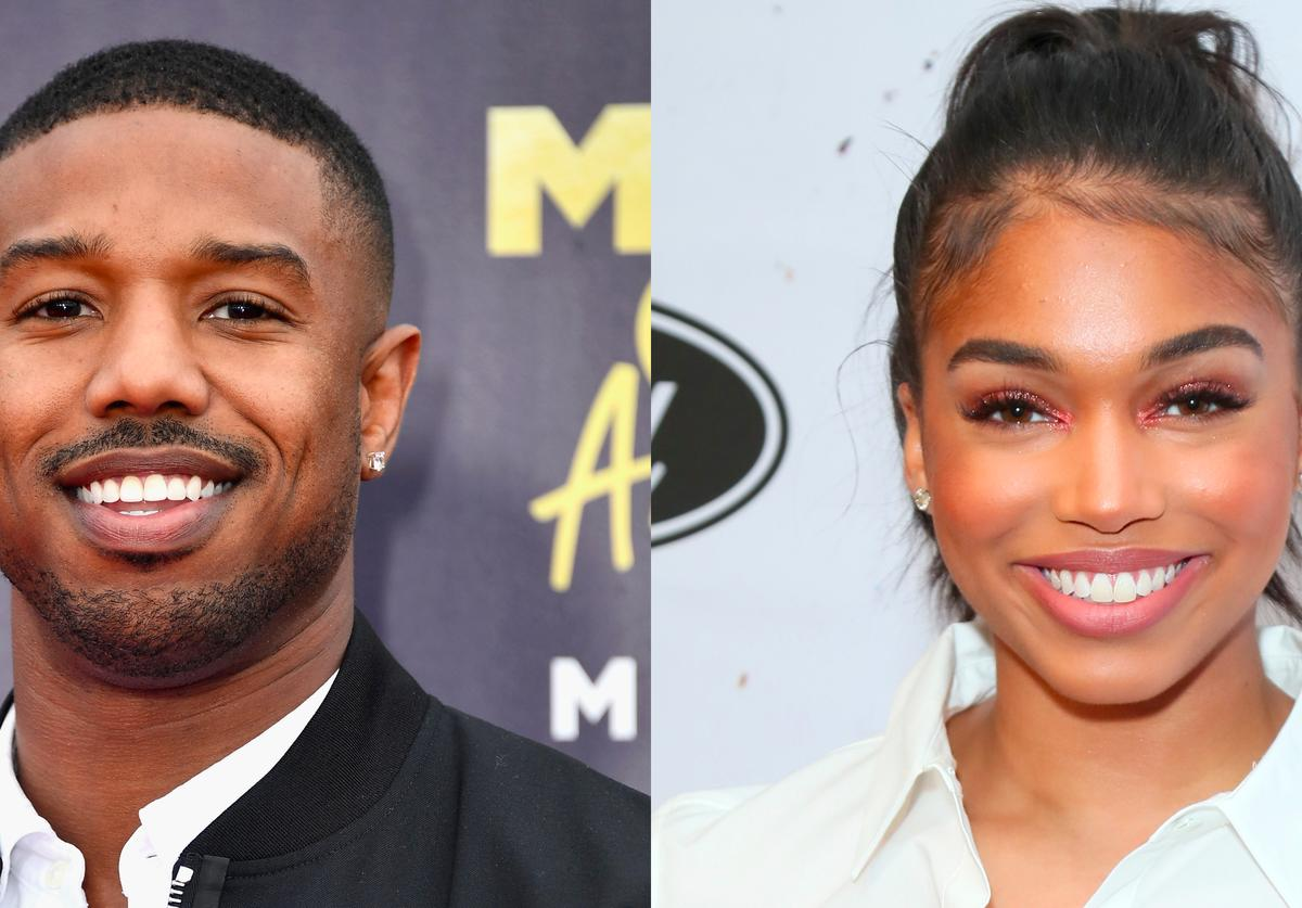 Michael B. Jordan attends the 2018 MTV Movie And TV Awards, Lori Harvey attends the 2019 Essence Black Women in Hollywood Awards
