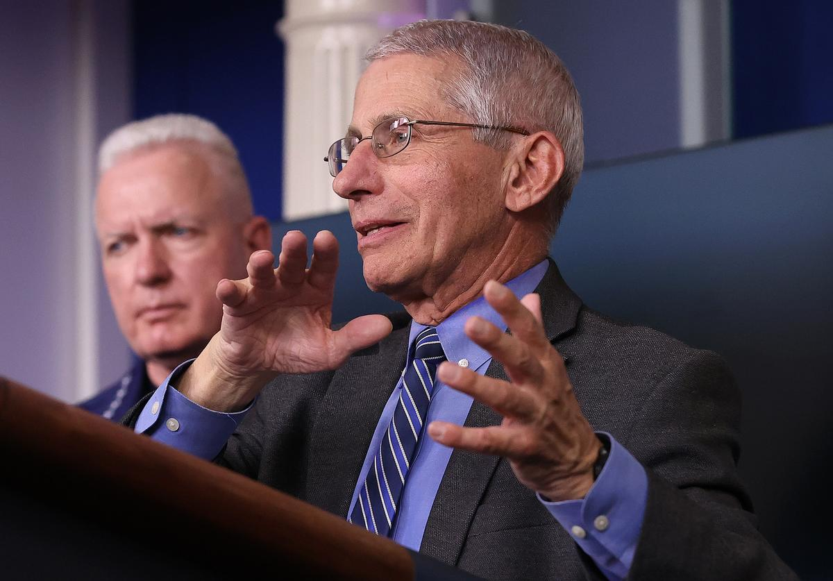Anthony Fauci, Vaccine, Children
