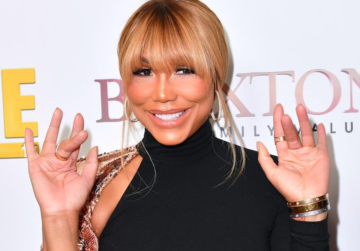 """Tamar Braxton is seen as We TV celebrates the premiere of """"Braxton Family Values"""