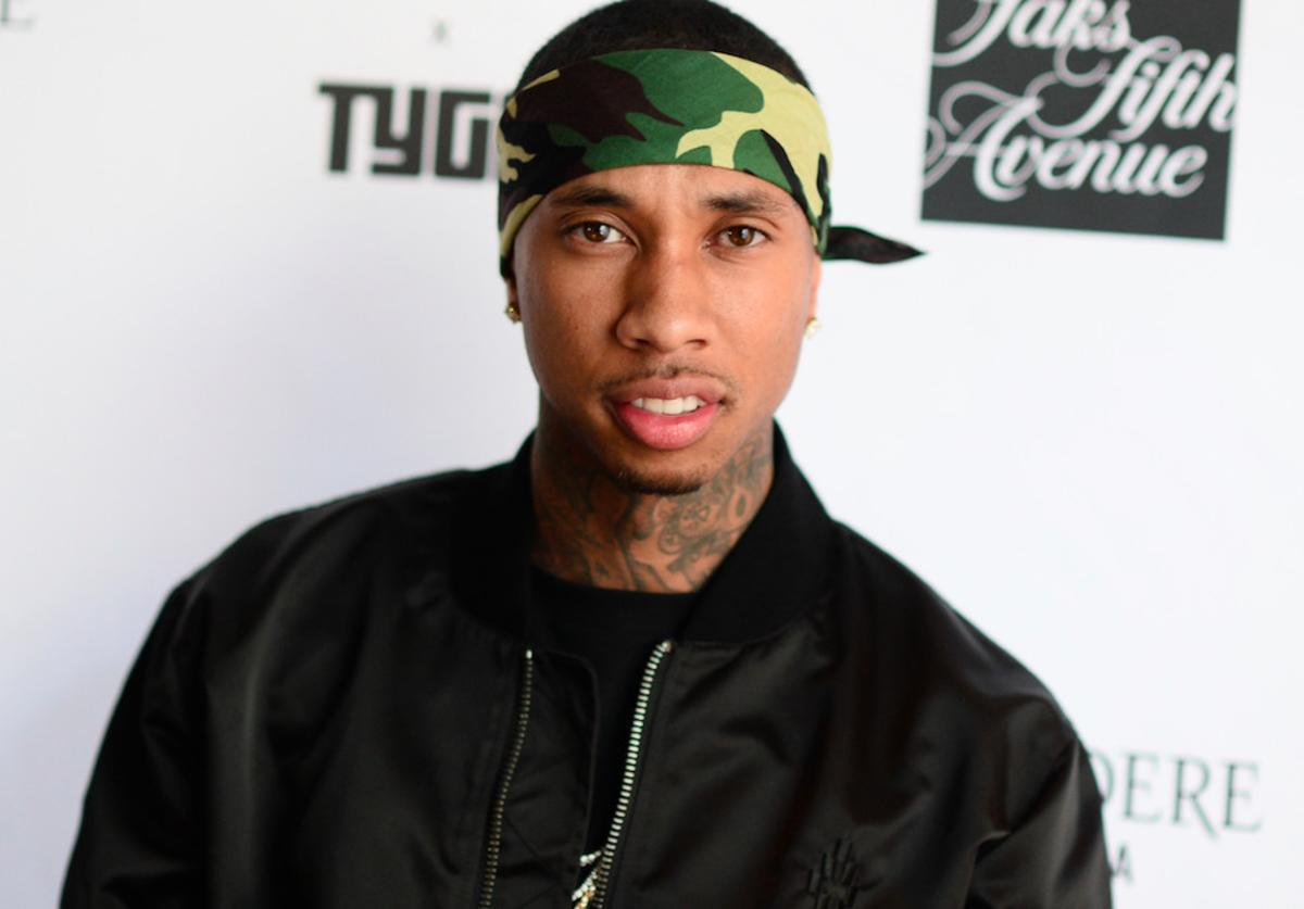 Tyga attends the Capsule Collection Party