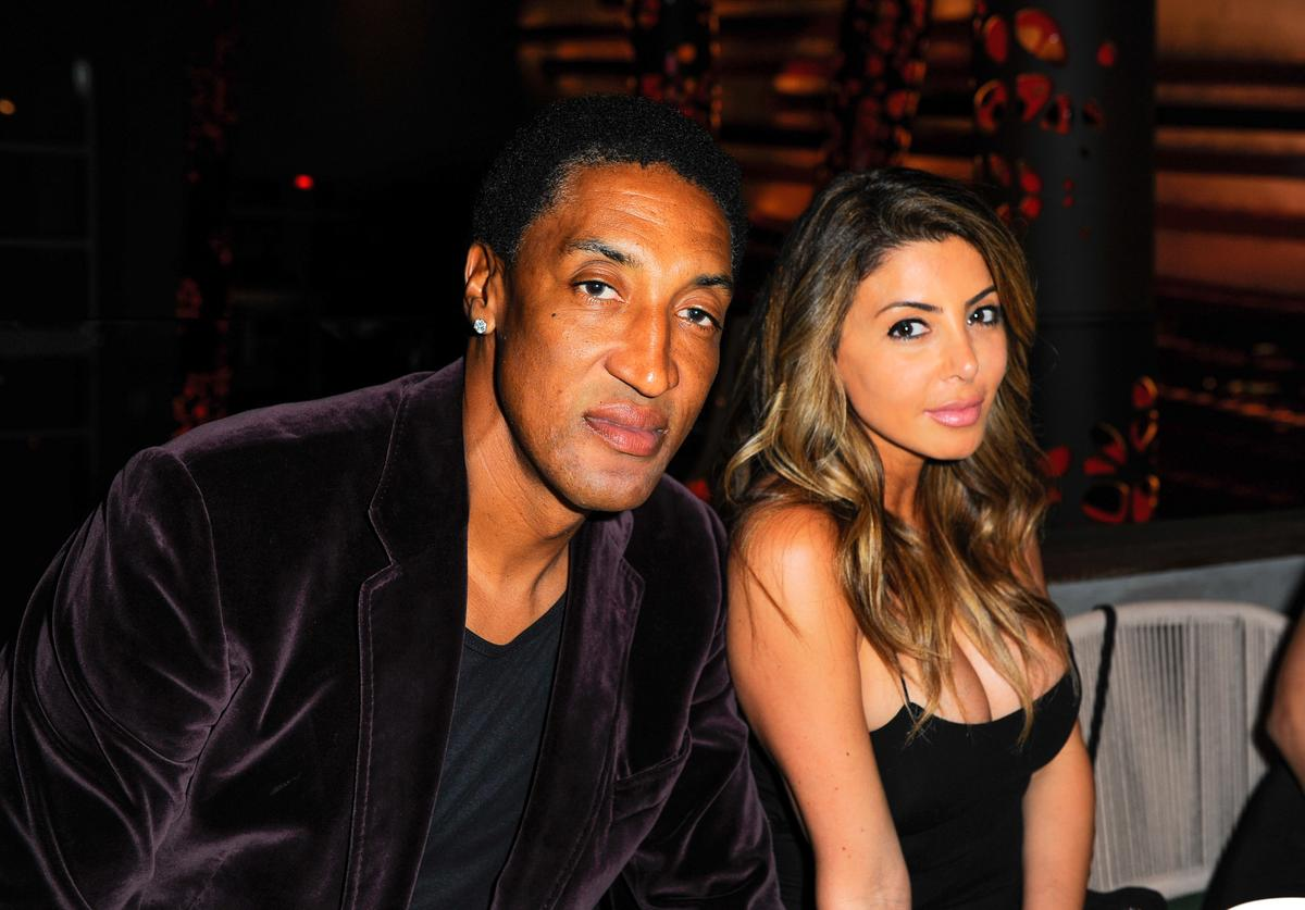 Scottie Pippen, Larsa Pippen, Adrianna Brown
