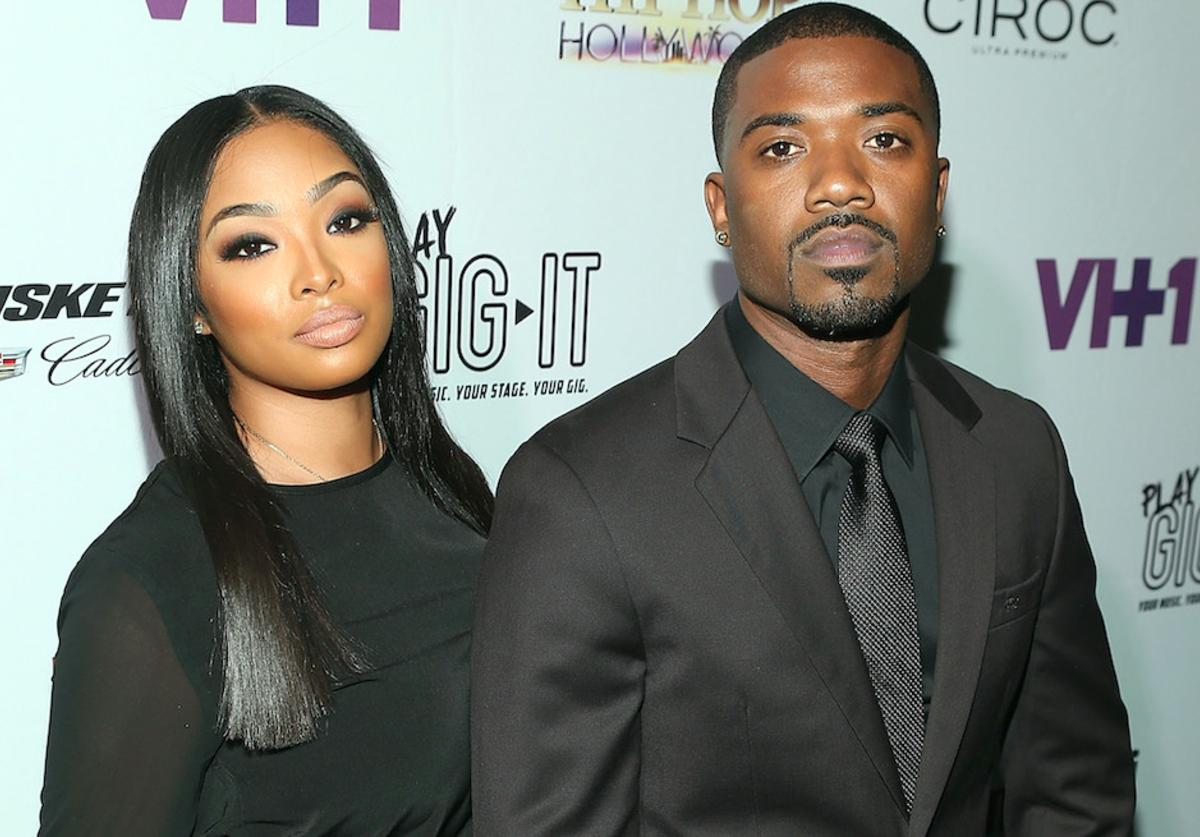 TV personalities Princess Love and Ray J attend the Love & Hip Hop: Hollywood Premiere Event