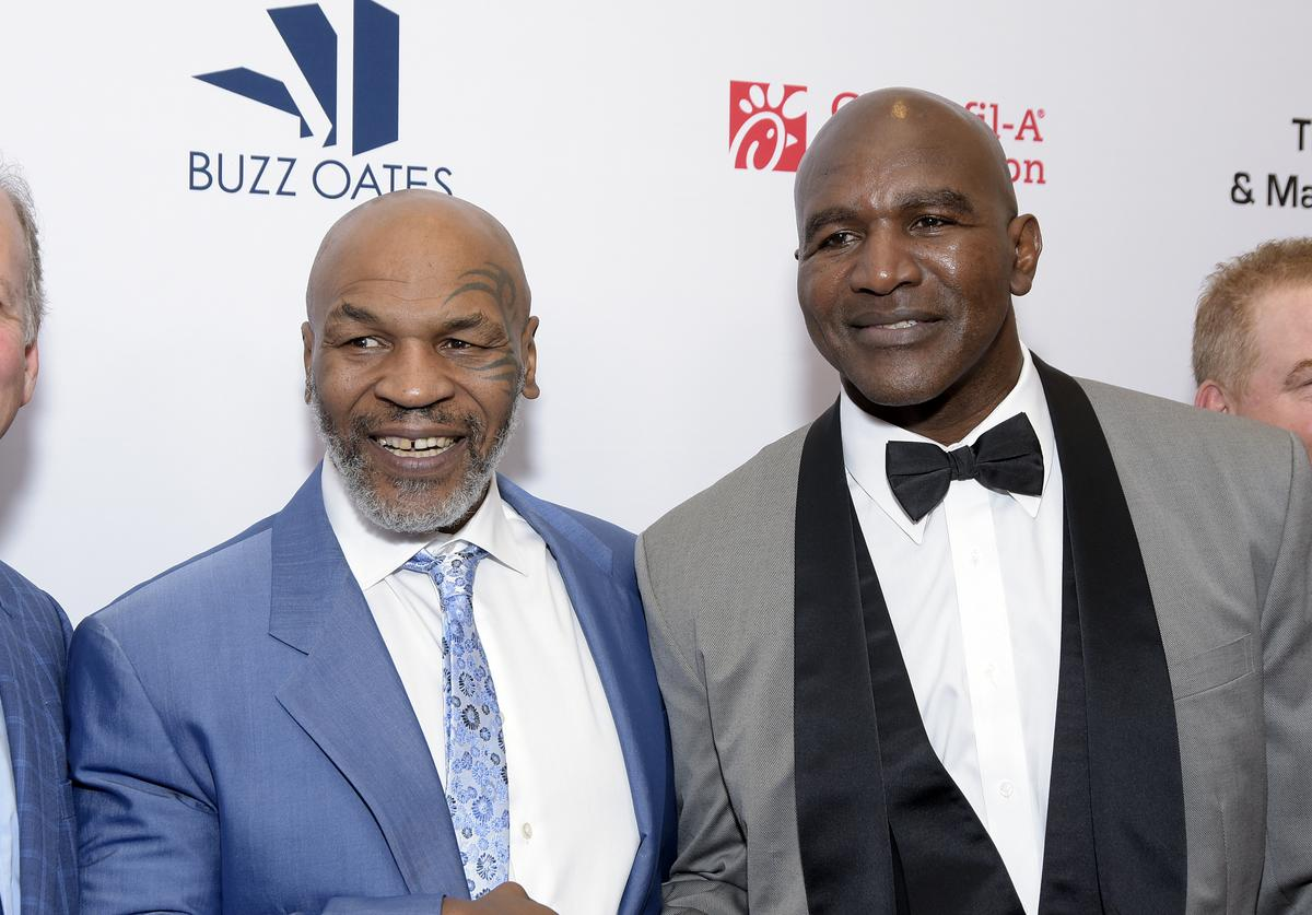 Mike Tyson, Evander Holyfield, Boxing, Fight, 2021