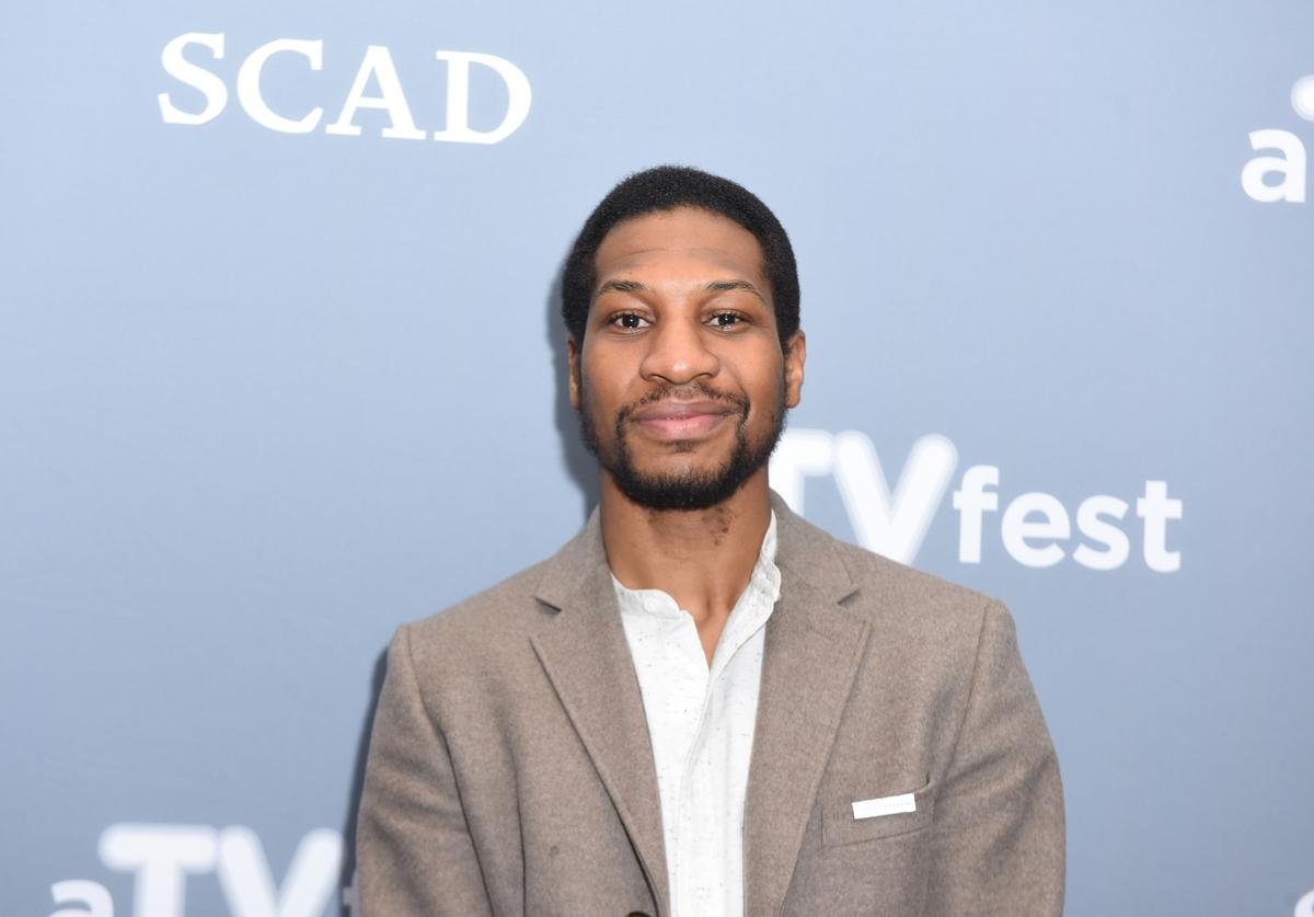 "Actor Jonathan Majors attends a press junket for ""When We Rise"" on Day Two of aTVfest 2017 presented by SCAD on February 3, 2017 in Atlanta, Georgia."