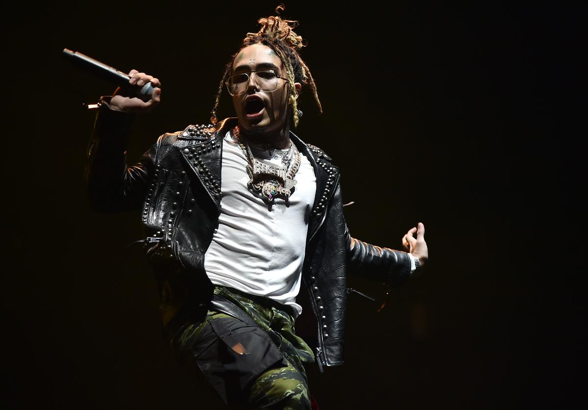 Lil Pump performs at Barclays Center on December 29, 2018 in New York City.