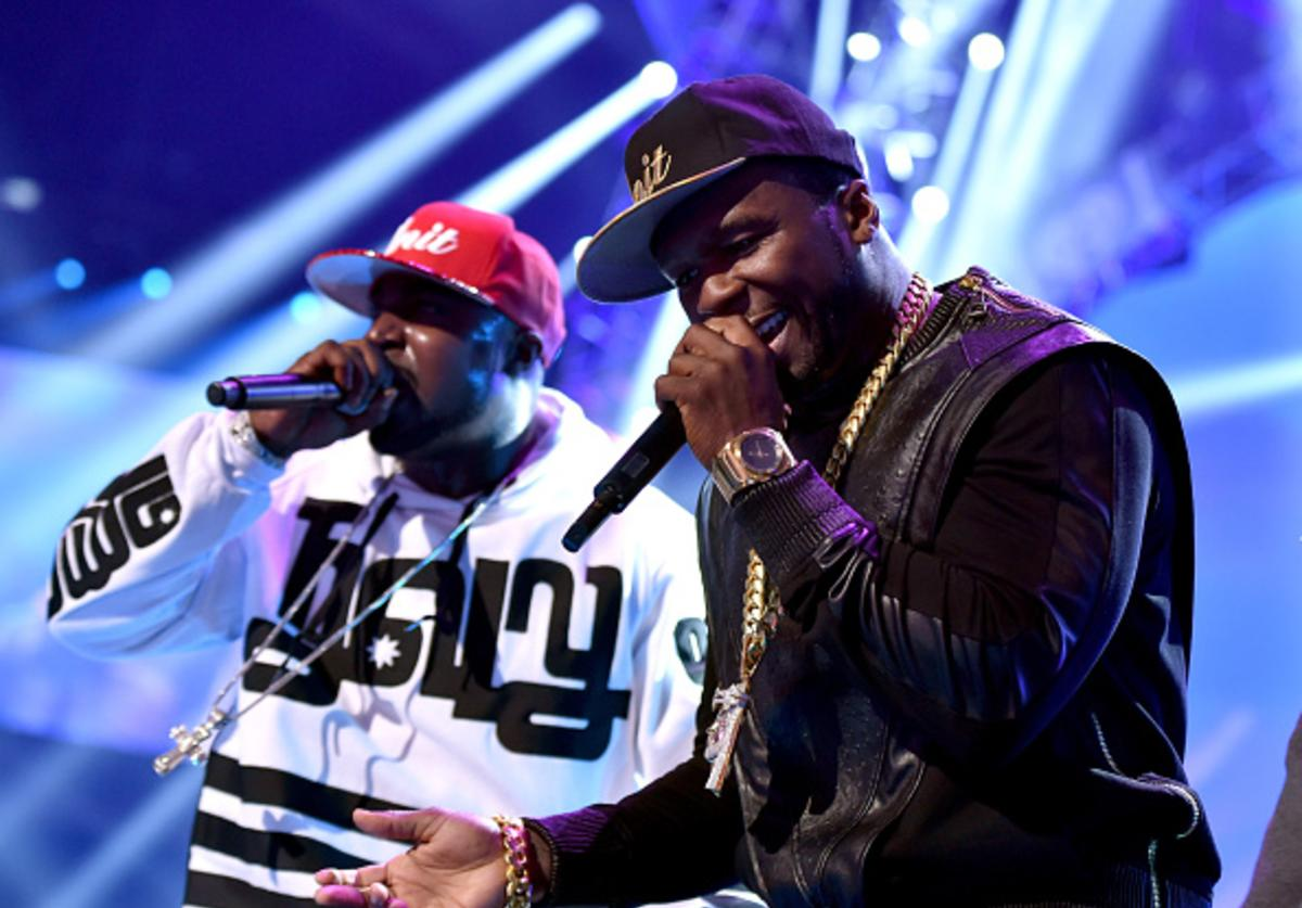 Young Buck performs with G-Unit at iHeartRadio