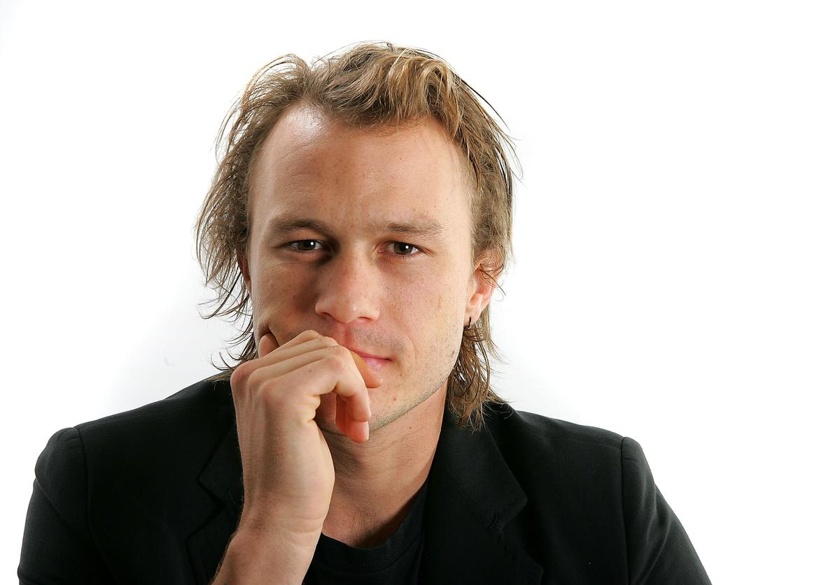 "Actor Heath Ledger from the film ""Candy"" poses for portraits in the Chanel Celebrity Suite at the Four Season hotel during the Toronto International Film Festival on September 8, 2006 in Toronto, Canada,"