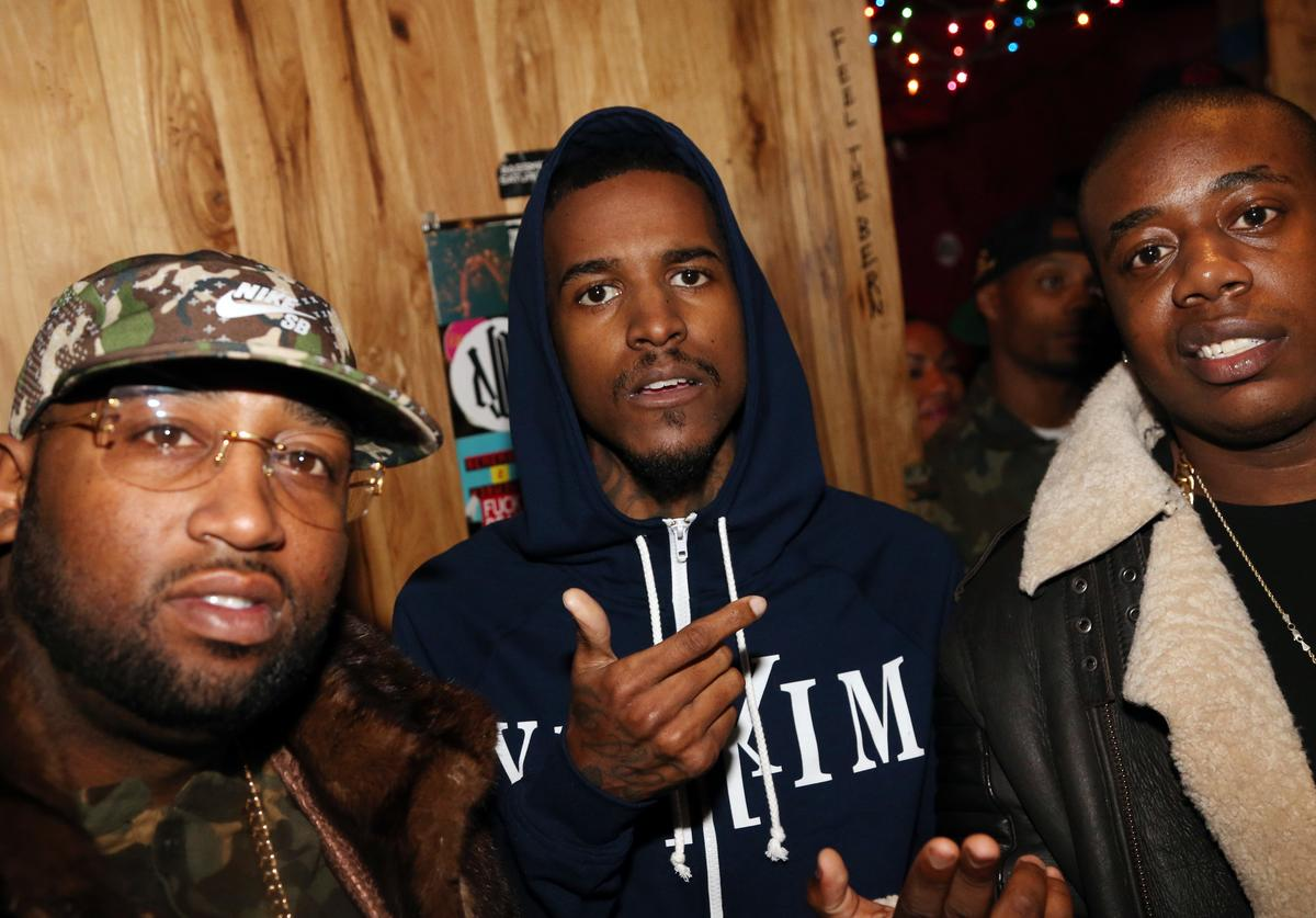 """Windsor """"Slow"""" Lubin, Lil Reese, and Trav attend Webster Hall on January 12, 2016, in New York City."""
