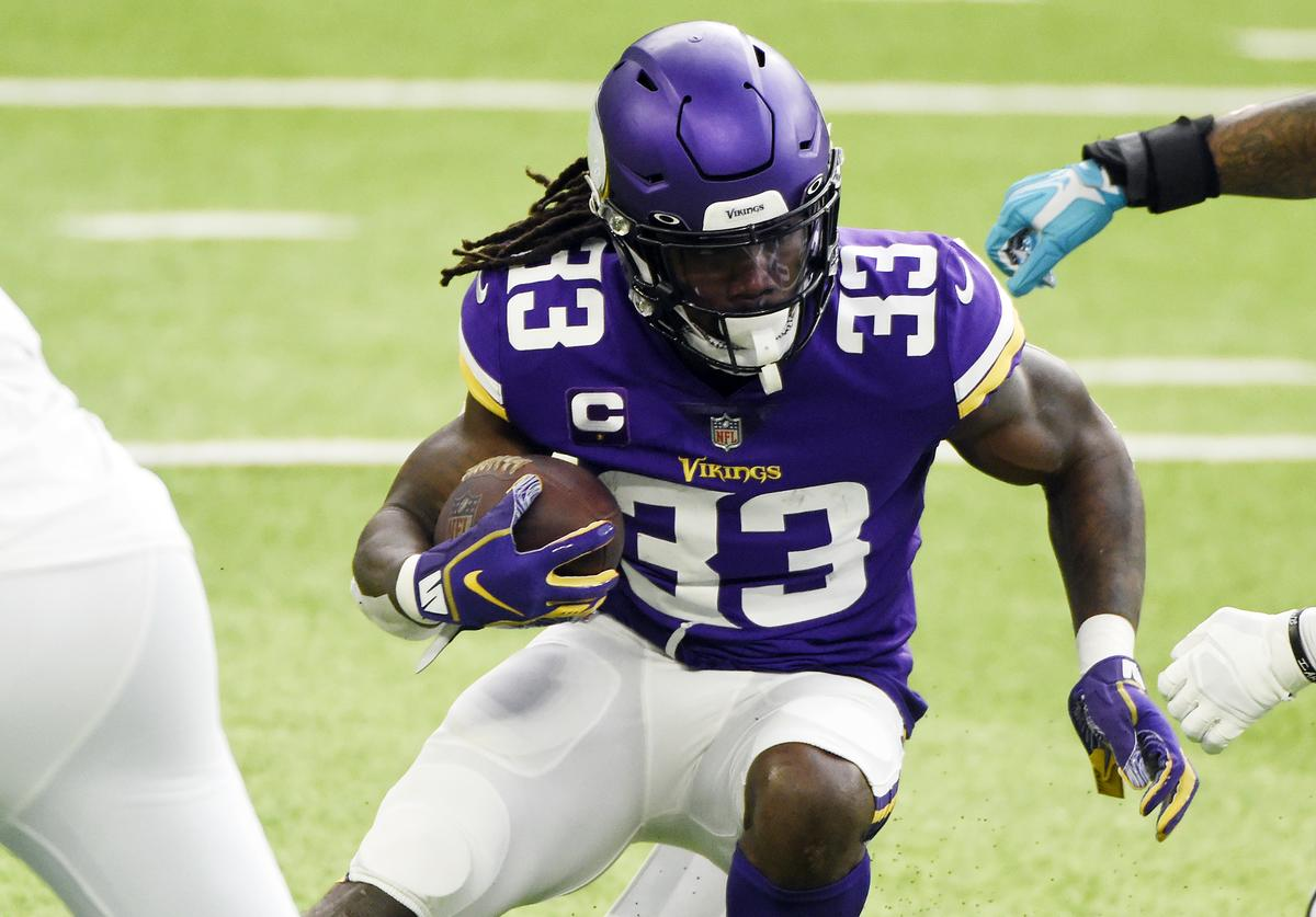 Dalvin Cook, Vikings, Father