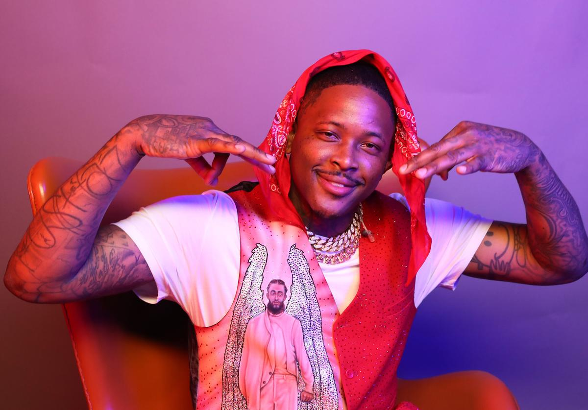 YG poses for a portrait during the BET Awards 2019 at Microsoft Theater on June 23, 2019 in Los Angeles, California.