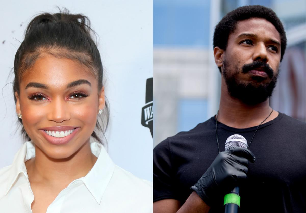 Lori Harvey Michael B. Jordan