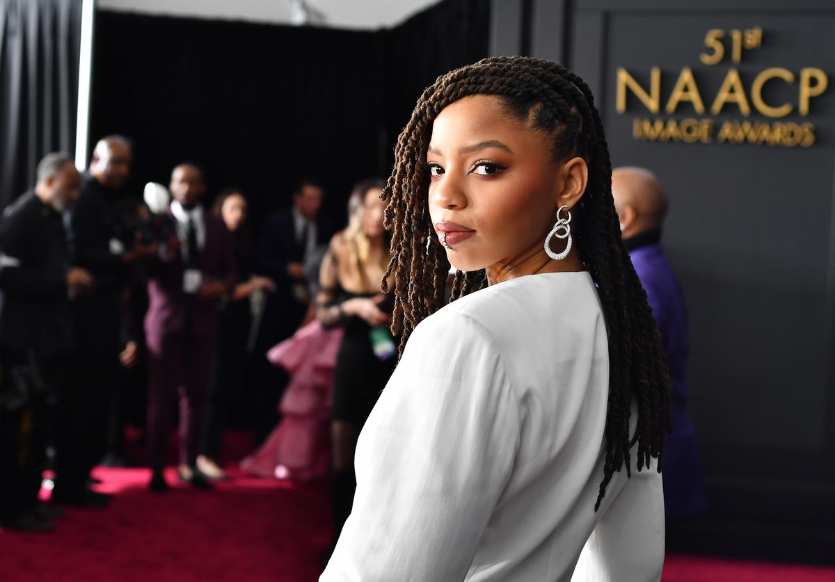 Chloe Bailey attends the 51st NAACP Image Awards
