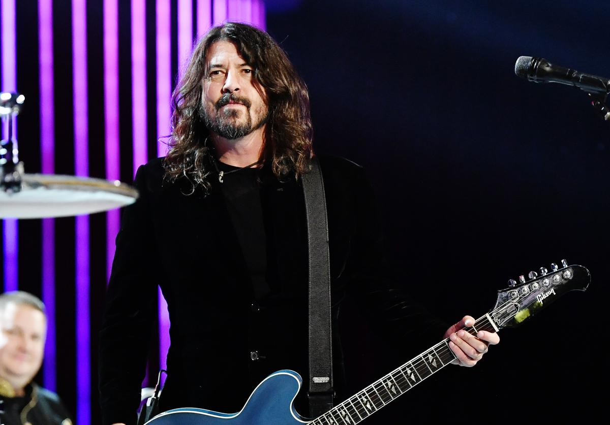 Dave Grohl, Rock Against Reagan
