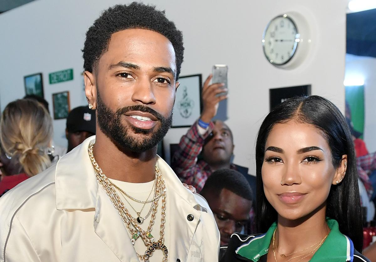 Big Sean (L) and Jhene Aiko attend PUMA x Big Sean Collection Launch Event