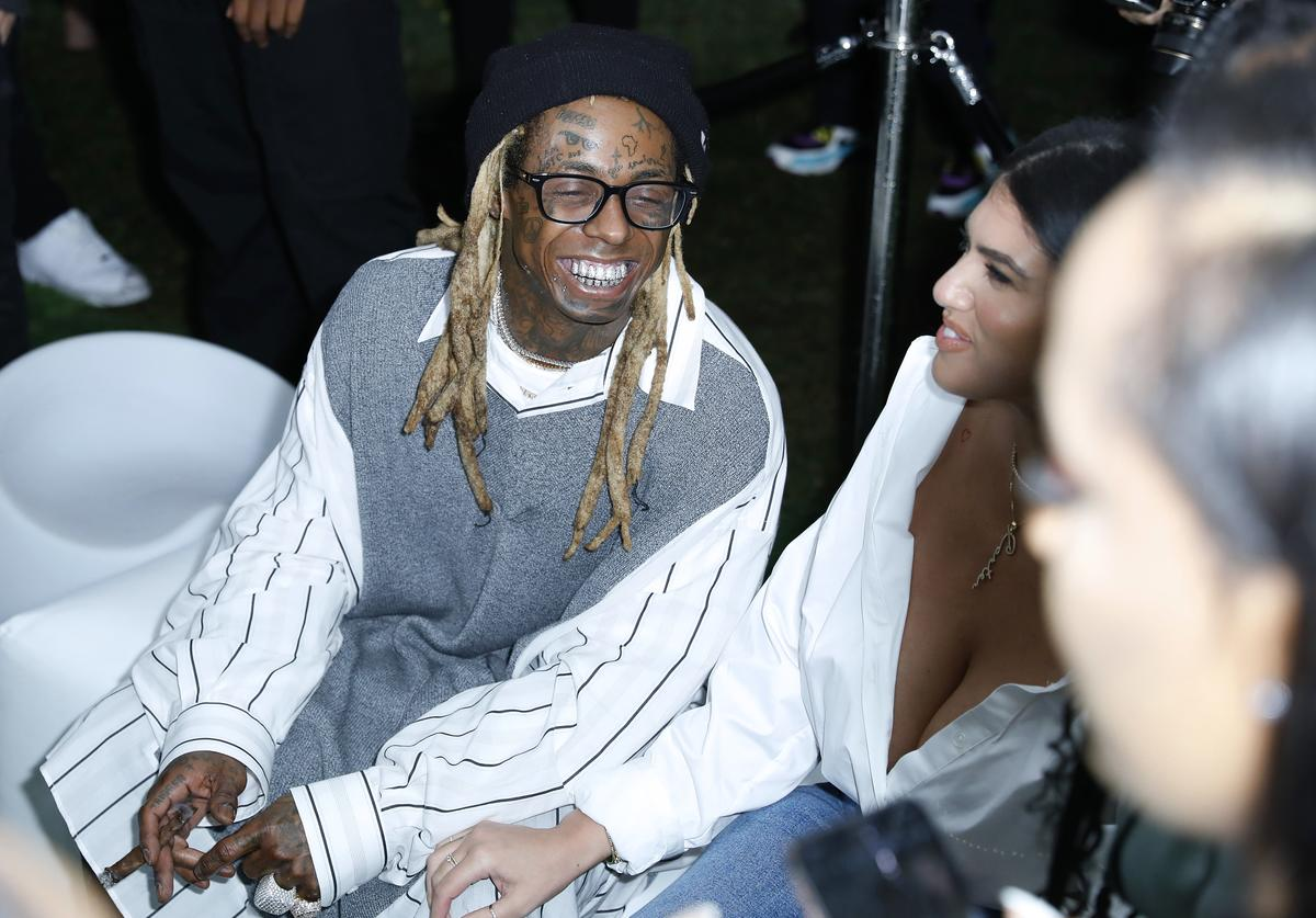 "Lil Wayne and La'Tecia Thomas attend Lil Wayne's ""Funeral"" album release party"