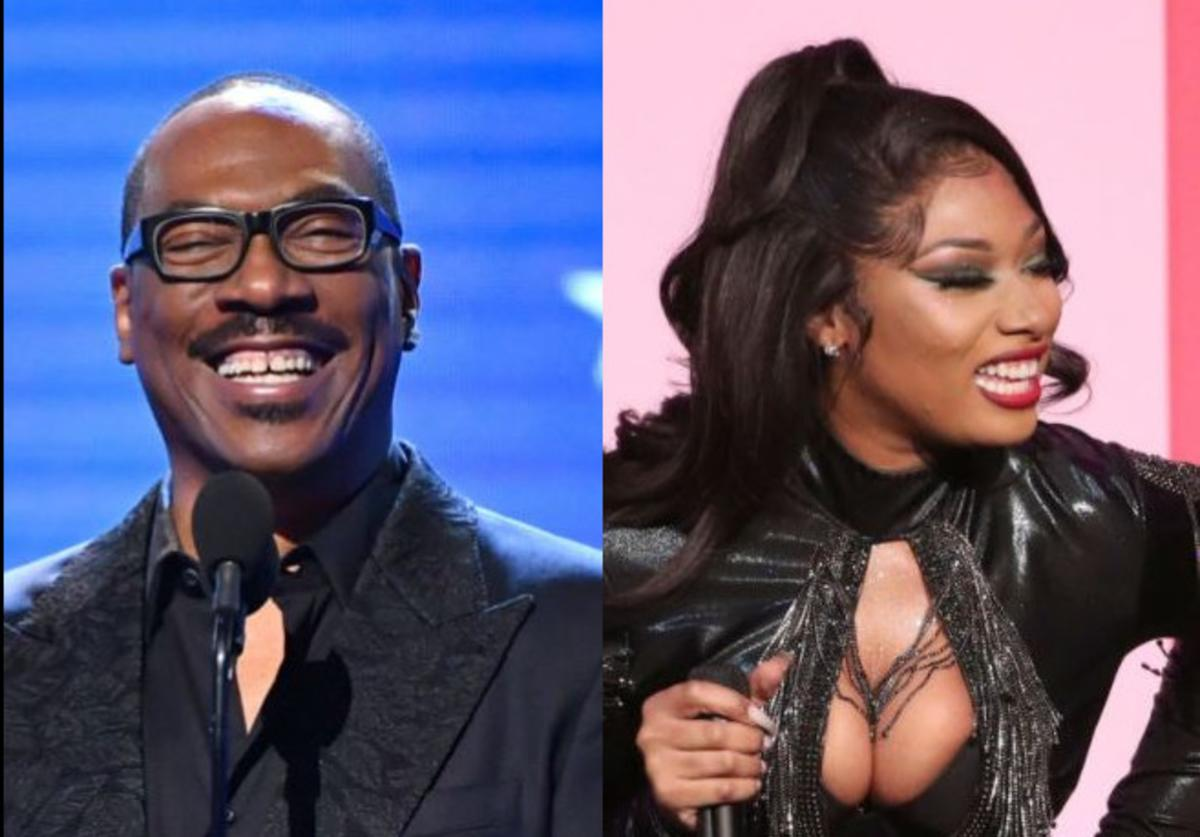 Eddie Murphy, Megan Thee Stallion, Music, Party All The Time, Rick James, Tamron Hall, Coming 2 America