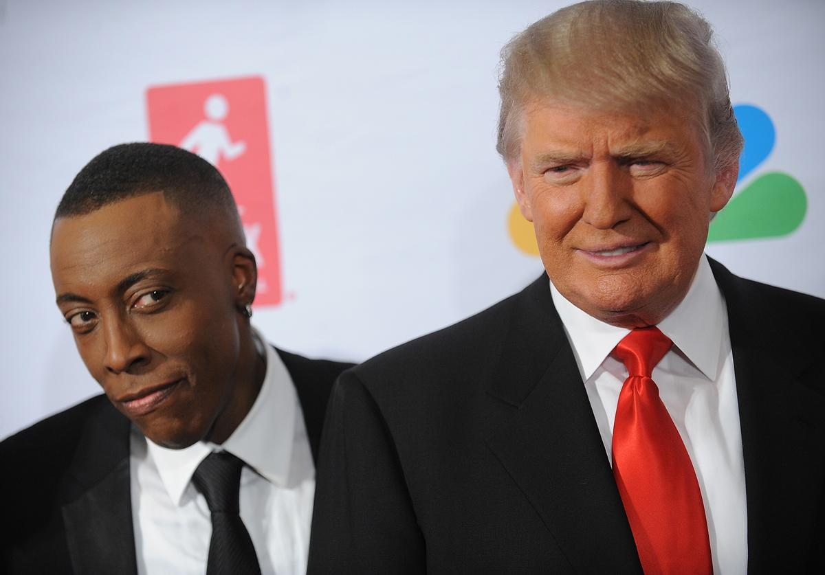 Arsenio Hall, Donald Trump, Eddie Murphy, Jimmy Kimmel, Coming 2 America