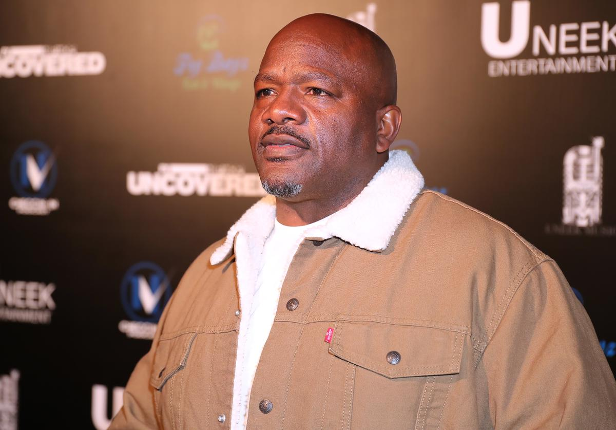 "Eugene ""Big U"" Henley attends the FX's New Docu-Series ""Hip Hop Uncovered"" Los Angeles Premiere"