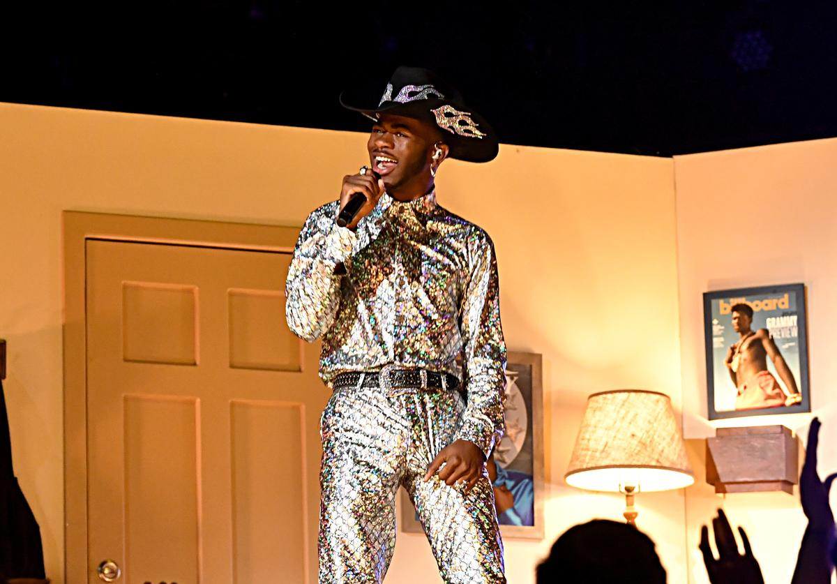 Lil Nas X performs onstage during the 62nd Annual GRAMMY Awards at STAPLES Center