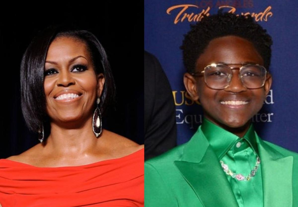 Michelle Obama, Zaya Wade, Advice, Interview, Instagram