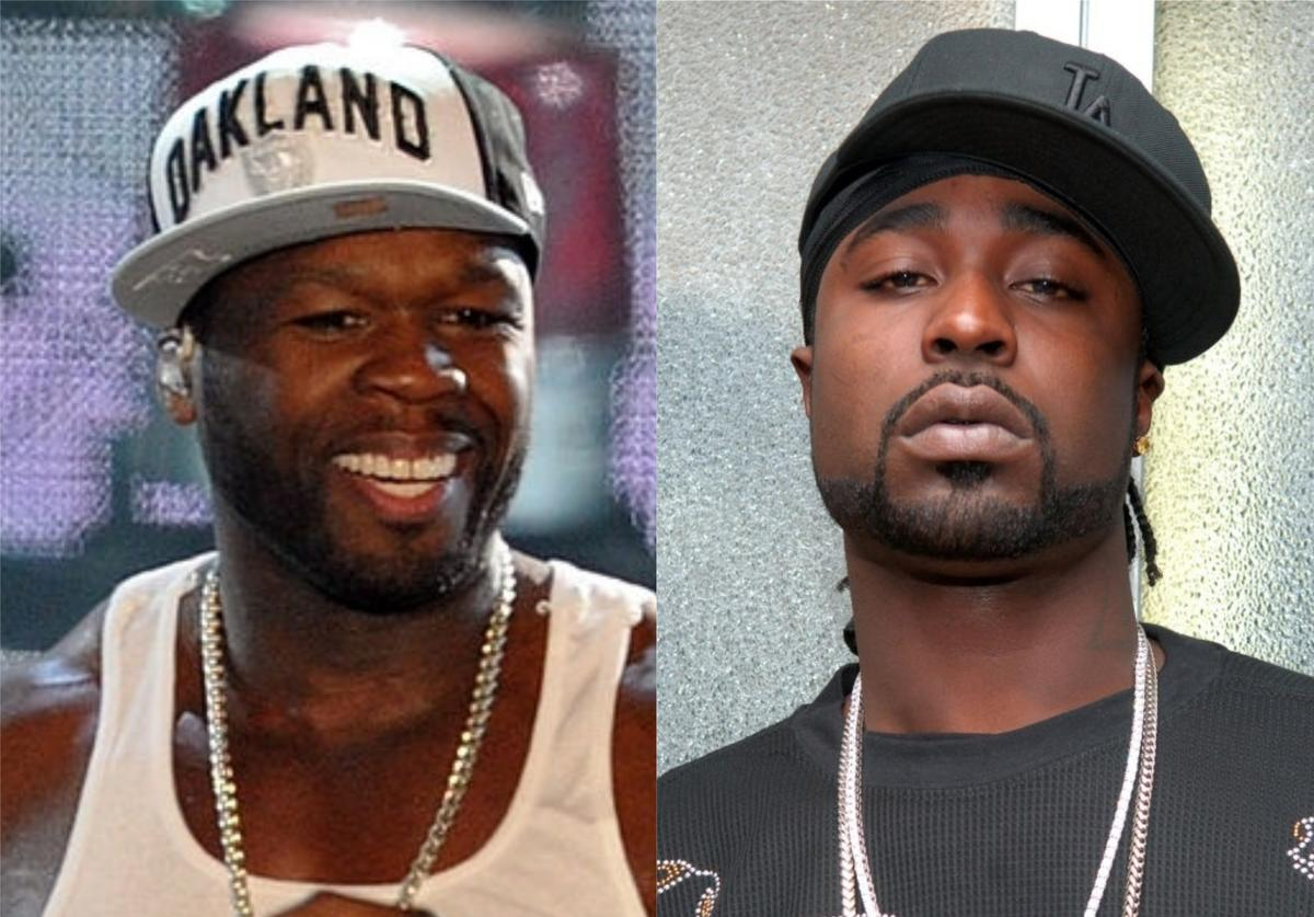 50 Cent Young Buck beef