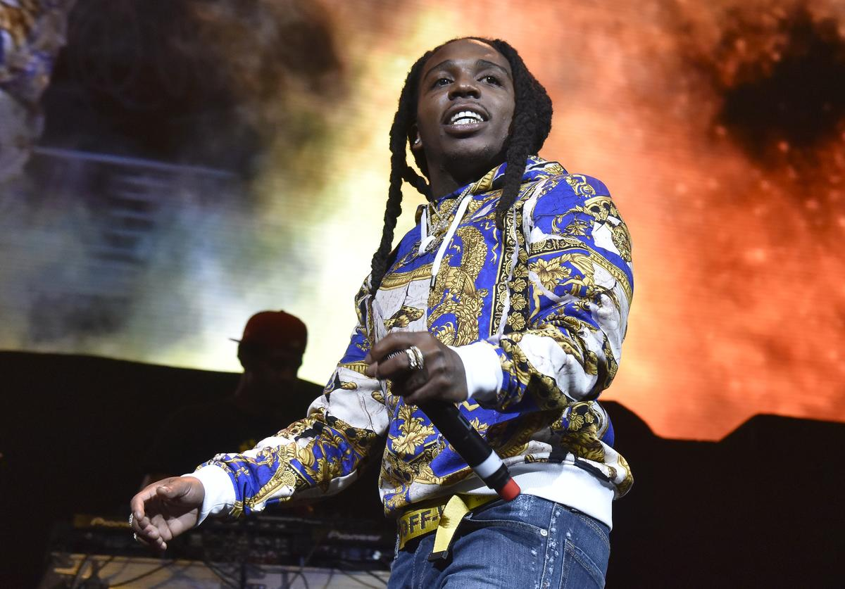 Jaquees performs during the 30th anniversary of KMEL Summer Jam at SAP Center on September 9, 2018 in San Jose, California.