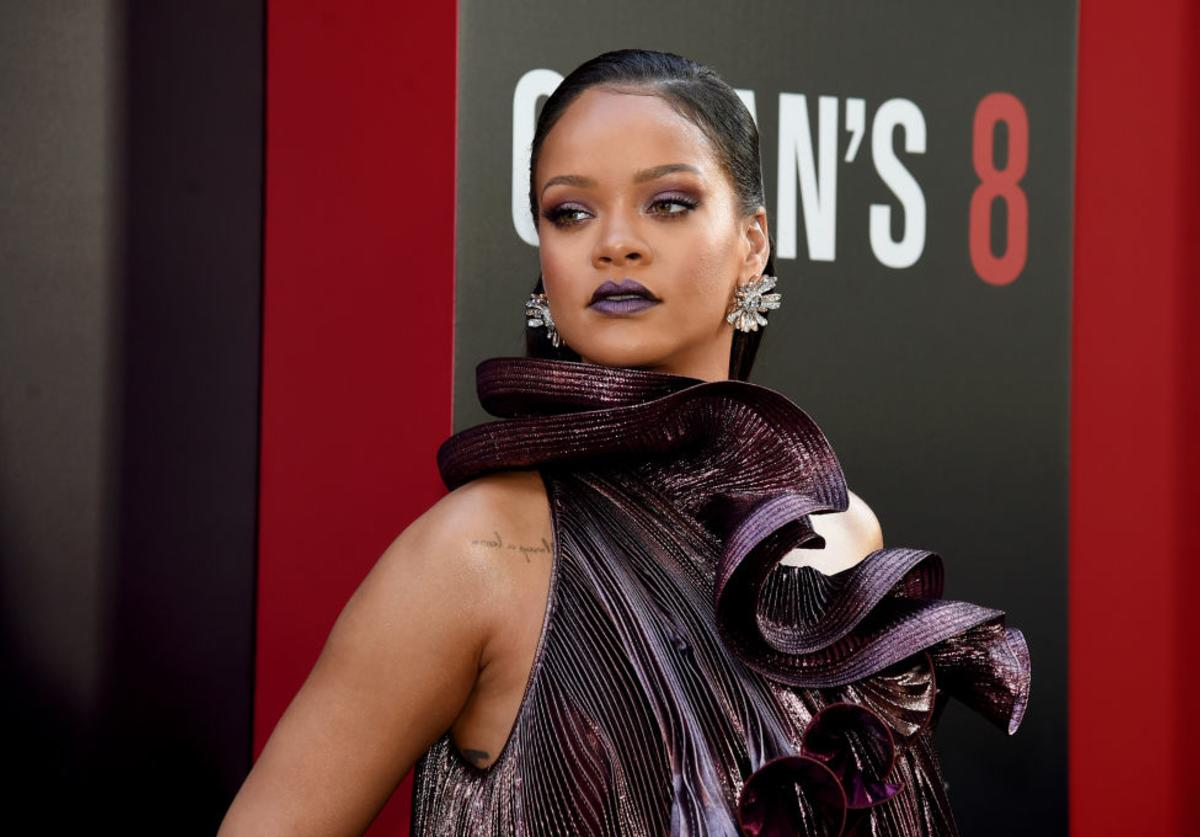 Rihanna Stop Asian Hate protest
