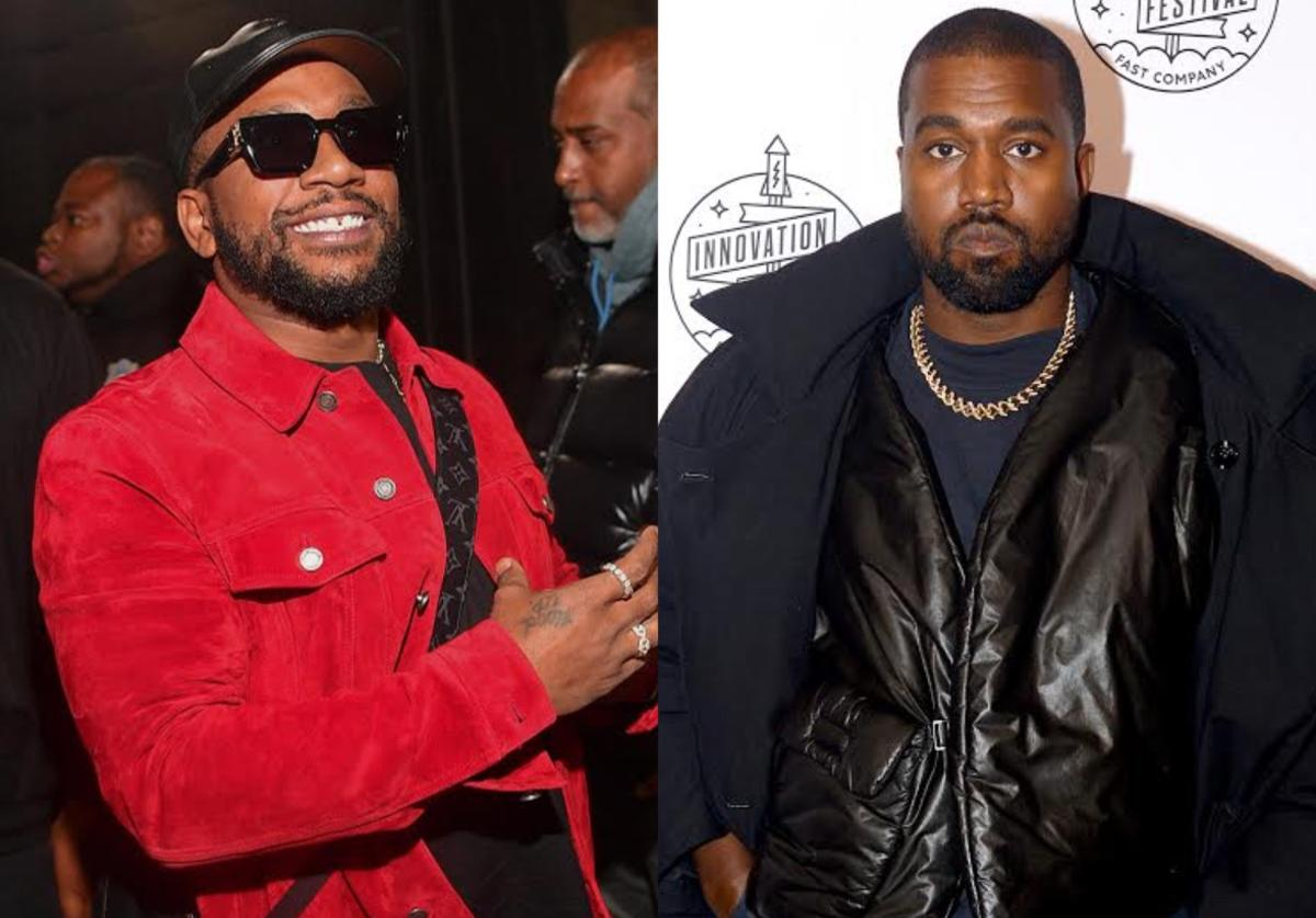 Collage featuring CyHi The Prynce & Kanye West
