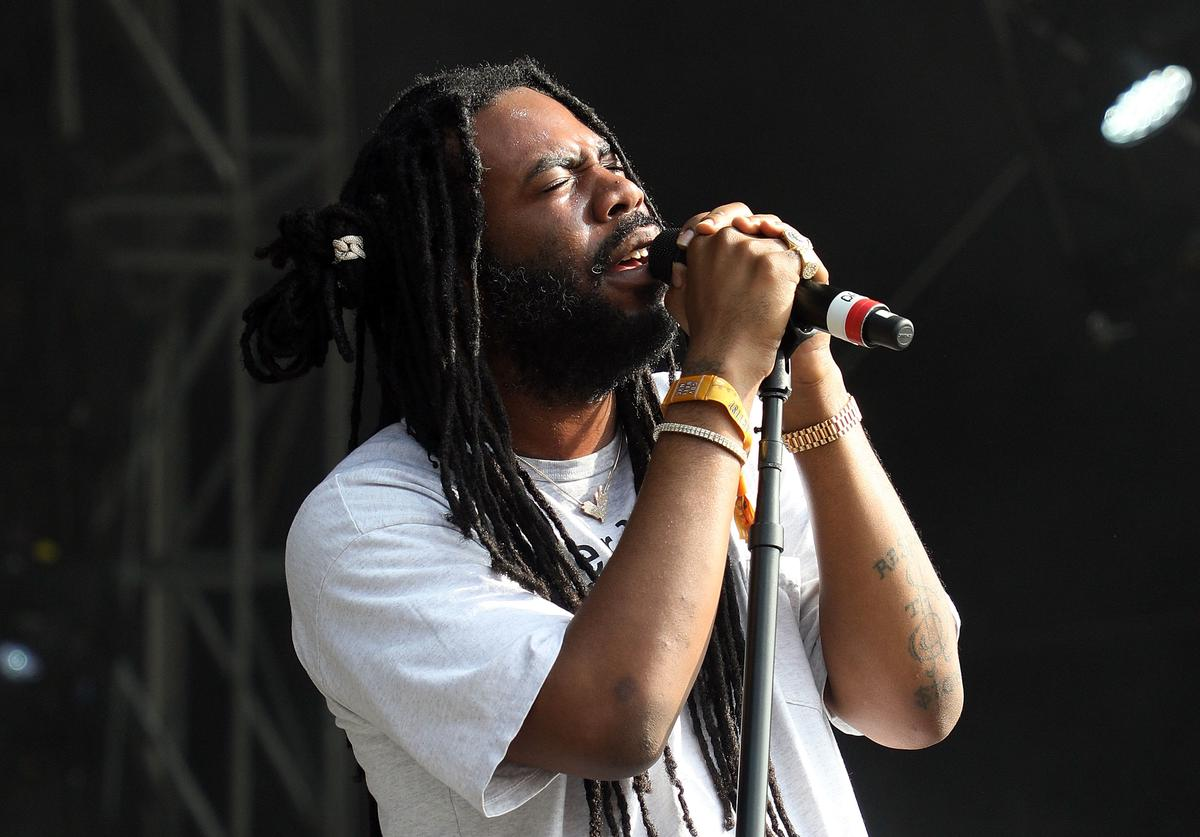 D.R.A.M. performs onstage during Day 1 of 2018 Governors Ball Music Festival at Randall's Island on June 1, 2018 in New York City