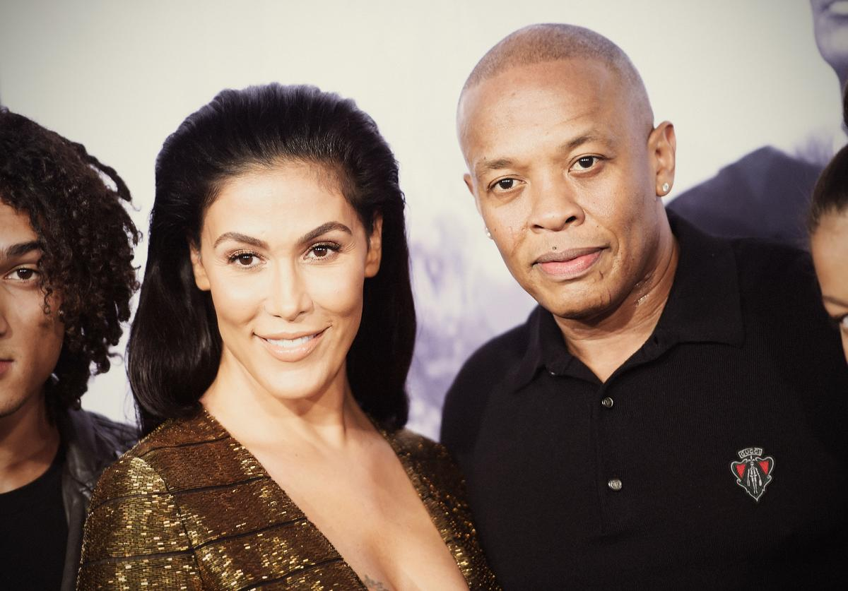 Nicole Young, Dr. Dre, Divorce, Abuse