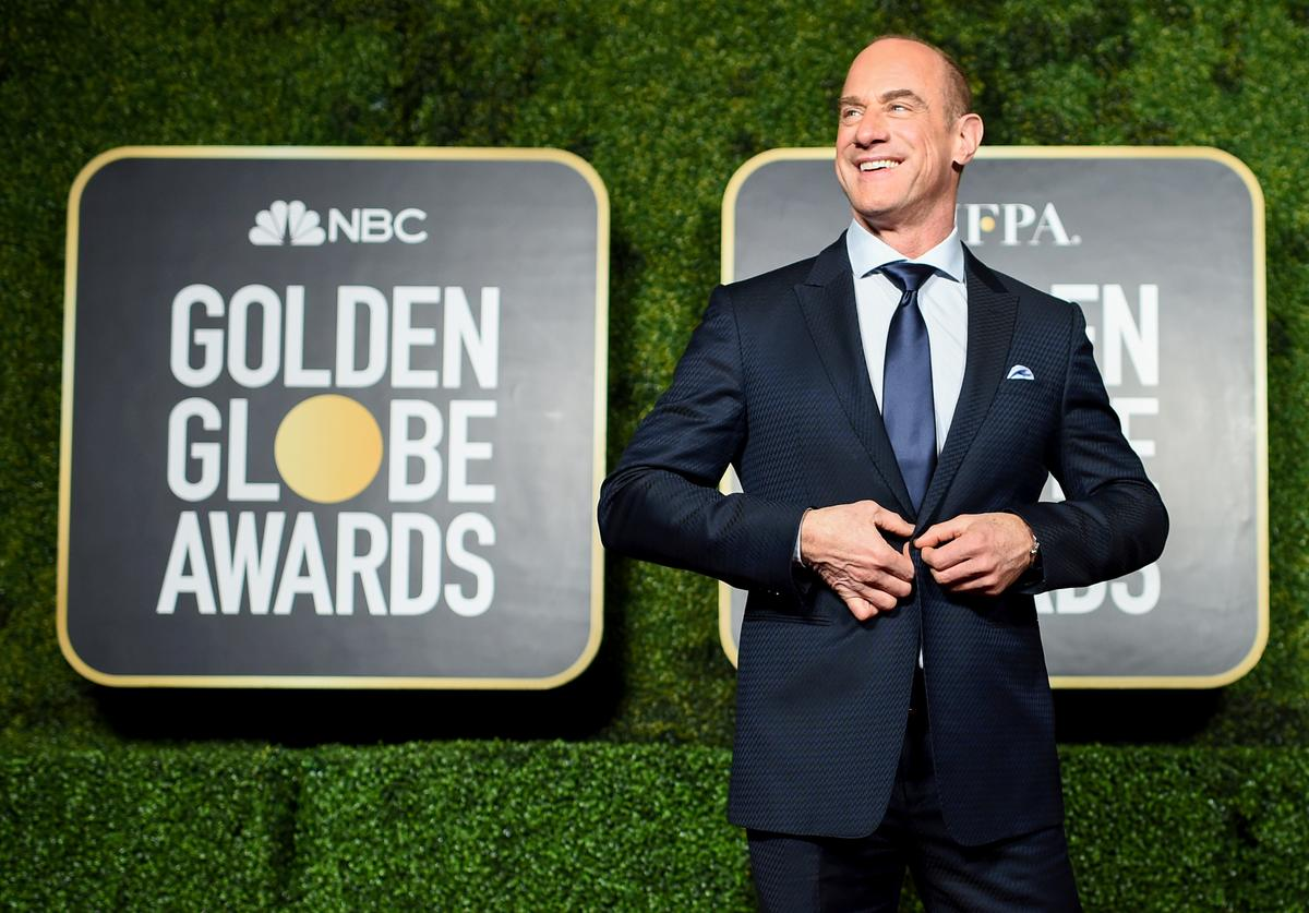 Christopher Meloni attends the 78th Annual Golden Globe® Awards at The Rainbow Room on February 28, 2021 in New York City.