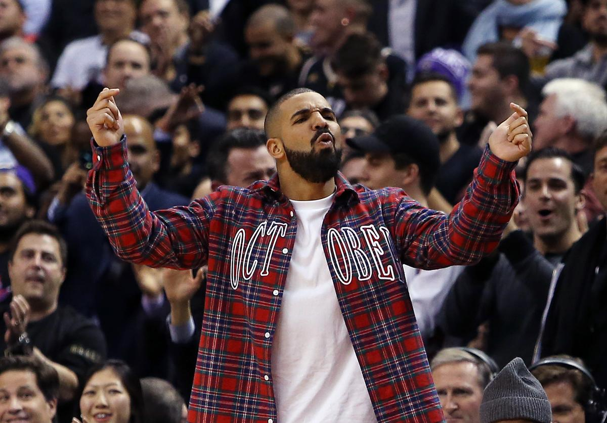 Drake at Toronto Raptors Drake Night